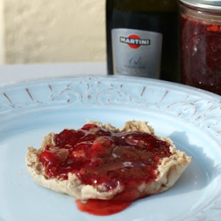 Strawberry Champagne Jam.