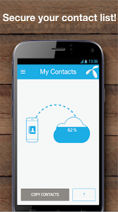 My Contacts - Phonebook Backup & Transfer App Screenshot