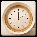 Coffee Cup HD Analog Clock LWP icon