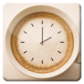 Coffee Cup HD Analog Clock LWP