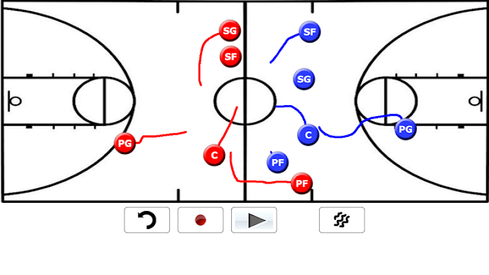 Basketball Playbook - screenshot