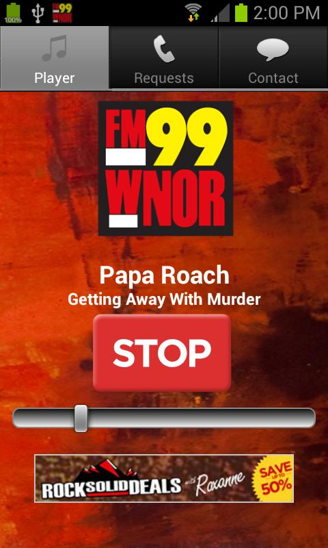 FM99 WNOR - screenshot