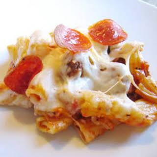 Manicotti Italian Casserole.