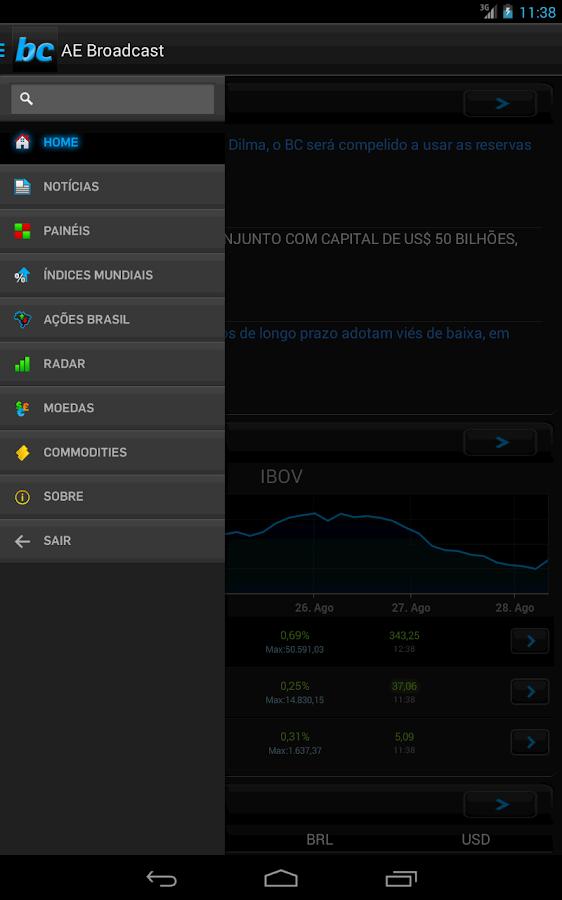 AE Broadcast- screenshot