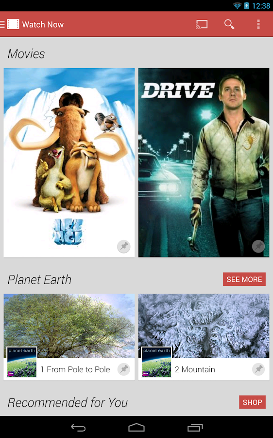 Google Play Movies & TV - screenshot