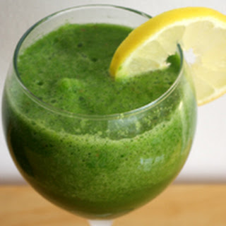 Refreshing Green And Apple Whole Juice.