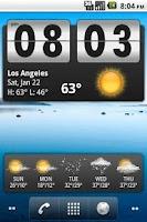 Screenshot of witiz weather