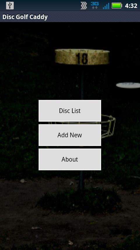 Disc Golf Caddy - screenshot