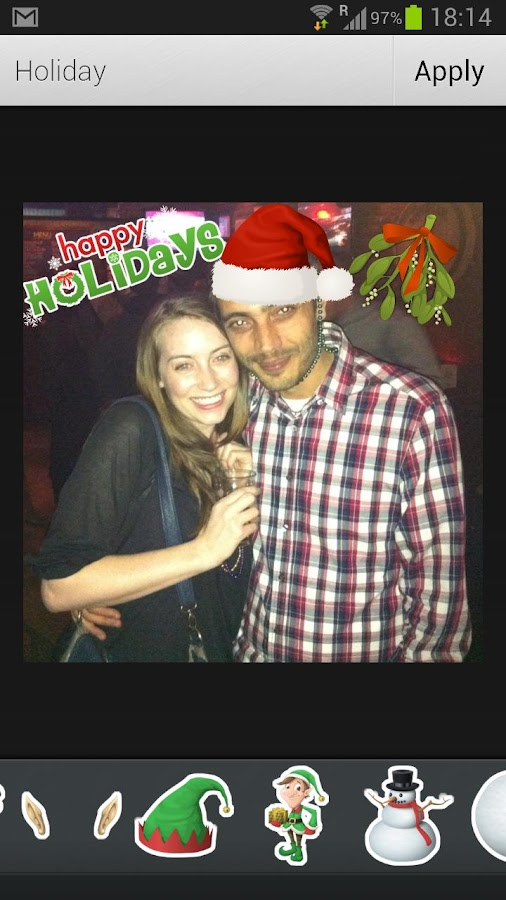 Aviary Stickers: Holiday - screenshot