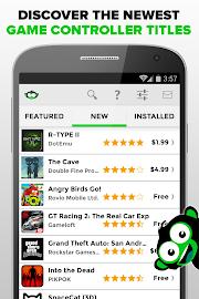 Phonejoy - Gamepad Games List Screenshot 3