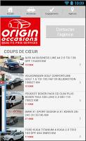 Screenshot of ORIGIN Occasions