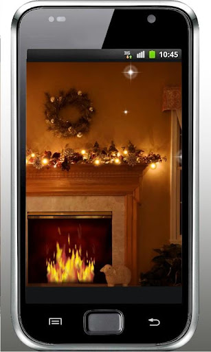 Fireplace New Year 2015 LWP