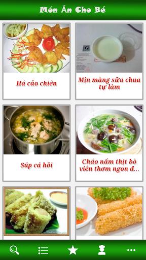 Mon An Cho Be - Mon Ngon