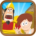 David & Goliath Bible Story icon