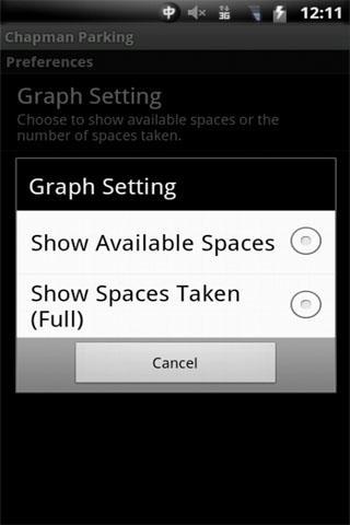 Chapman Parking- screenshot