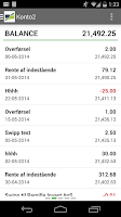 Screenshot of Sparekassen Vendsyssel