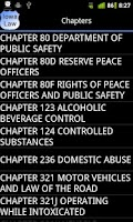 Screenshot of Iowa Police Field Reference