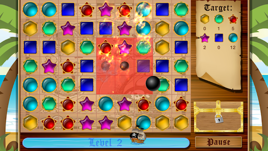 Jewel Tides - Match 3 Puzzle - screenshot thumbnail