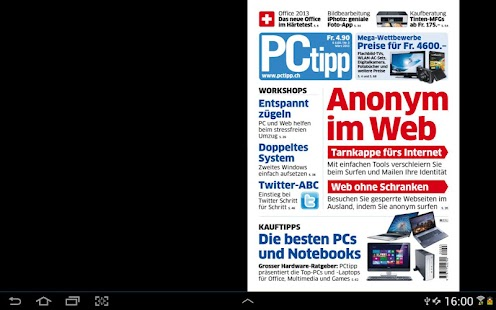 PCtipp E-Paper - screenshot thumbnail