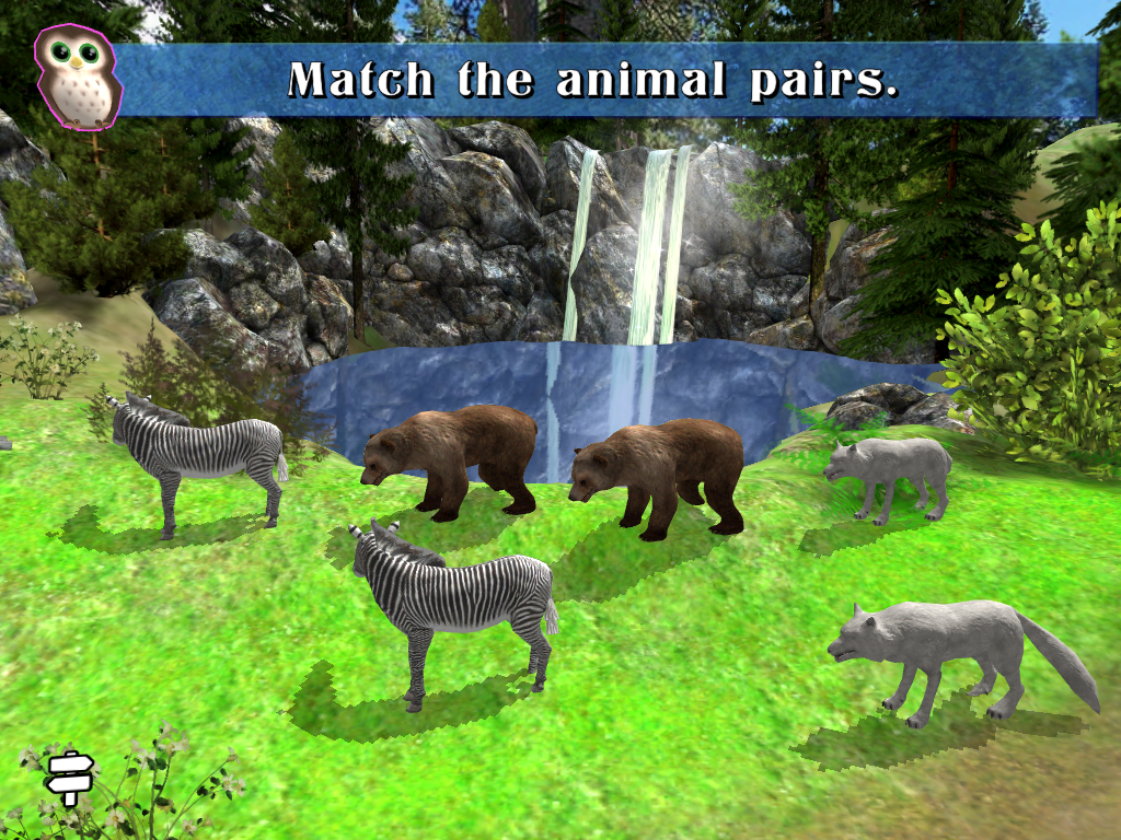 Preschool Math Booster Zoo- screenshot