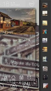 Love is back GO Locker Theme v1.00