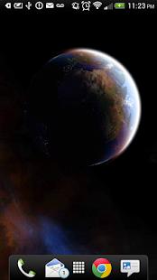3D Space Live Wallpaper Pro