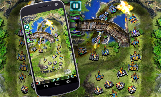 GalaxyDefense- Strategie Spiel Screenshot