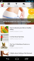 Screenshot of How to lose weight