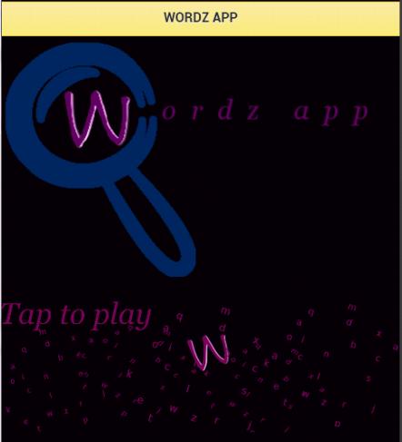 Wordz App