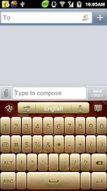 GO Keyboard Fortune Dragon Screenshot 4