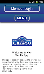 Cresco Area Chamber- screenshot thumbnail