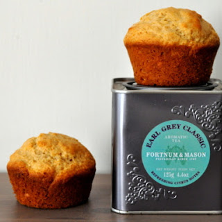 Earl Grey Lemon Muffins.