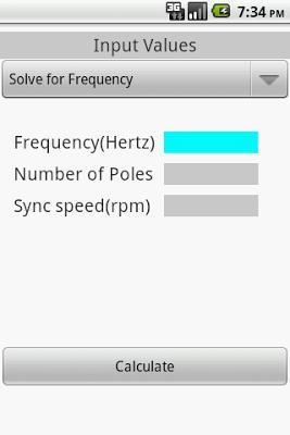 ELECTRICAL- INDUCTION MOTOR - screenshot