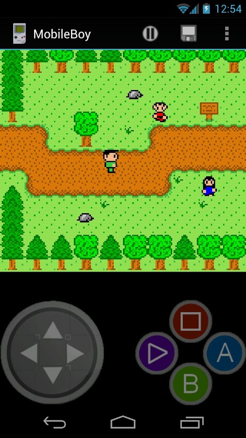 Mobile Gameboy - screenshot
