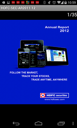 HDFC Securities Ltd AR 2011-12