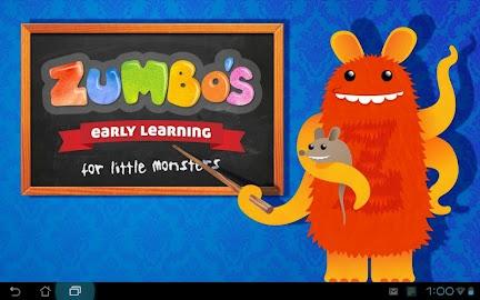 Zumbo's Early Learning Screenshot 1