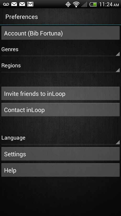 inLoop - screenshot