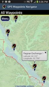 GPS Waypoints Navigator APK 8