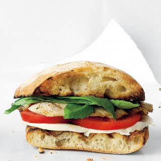 Turkey Caprese Sandwich.