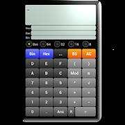混合電卓Free - 2進数,10進数,16進数電卓 -