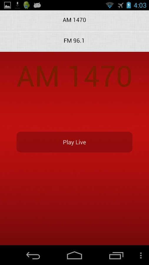 Fairchild Radio- screenshot