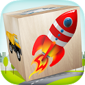 Cars Blocks game for kids icon