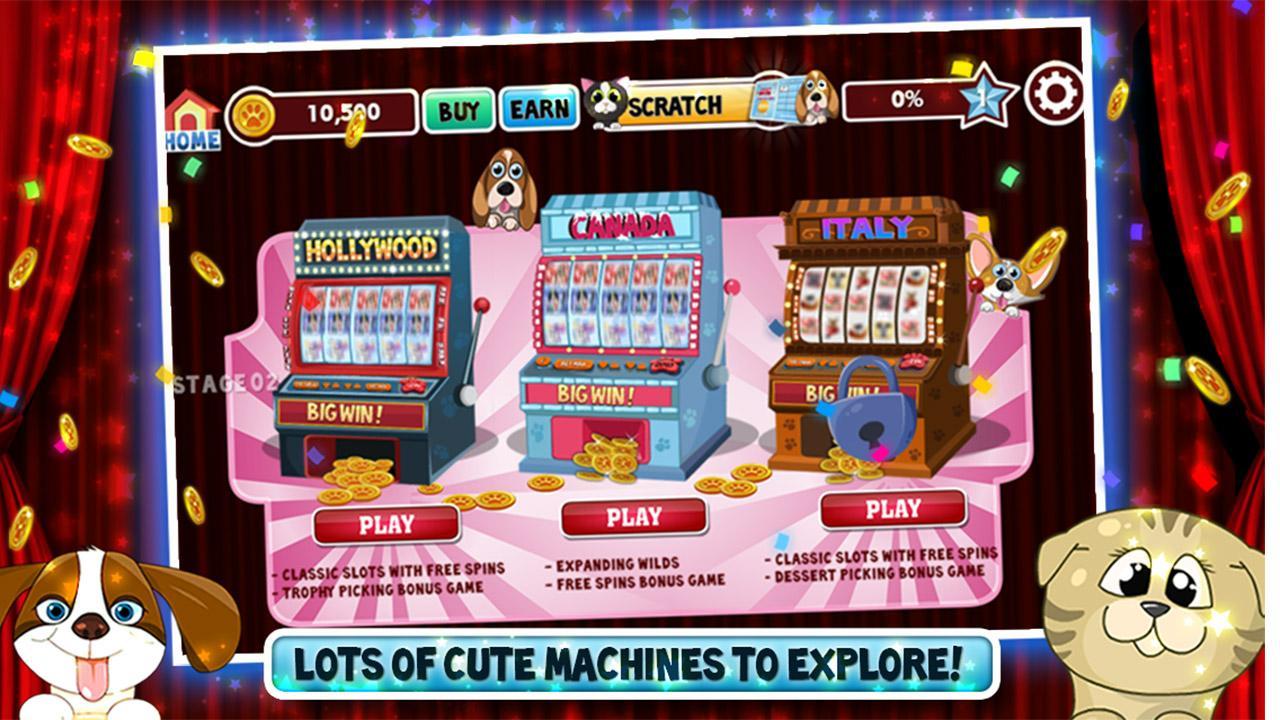 Cats vs Dogs Slots - screenshot