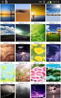 Screenshot of Nature Wallpapers 1