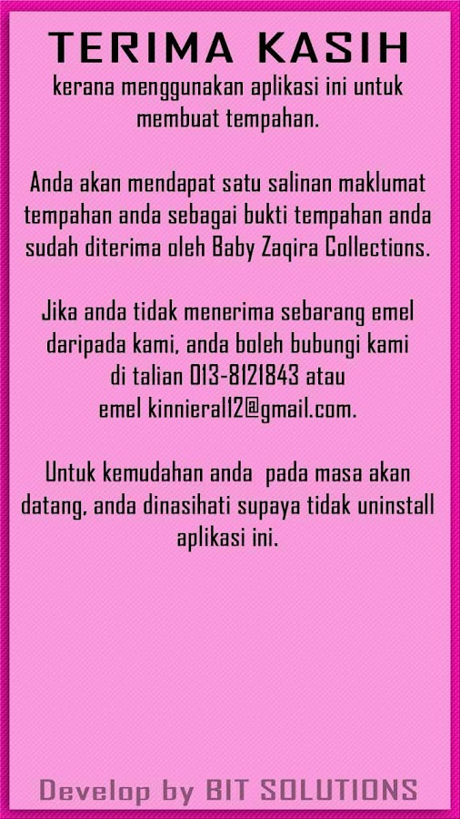 Baby Zaqira Collections OM4B - screenshot