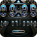 Mavis digital Clock Widget