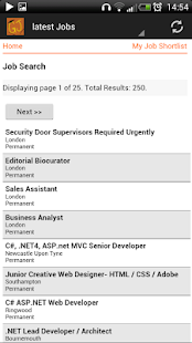 Graduate and Intern Jobs - UK - screenshot thumbnail