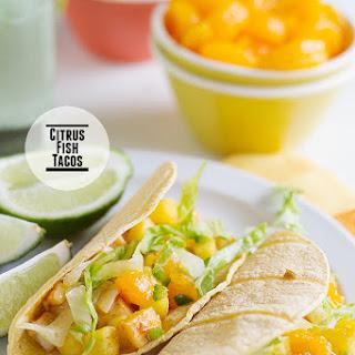 Citrus Fish Tacos.