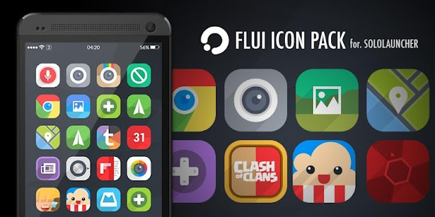FLUI Icon Pack For Solo