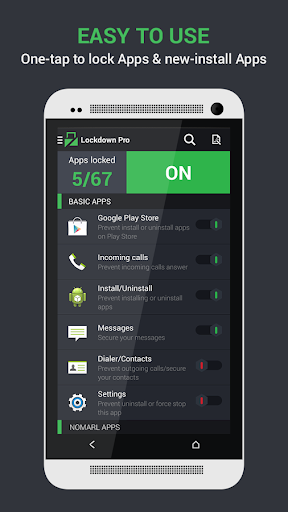 Lockdown Pro - Theme HTC